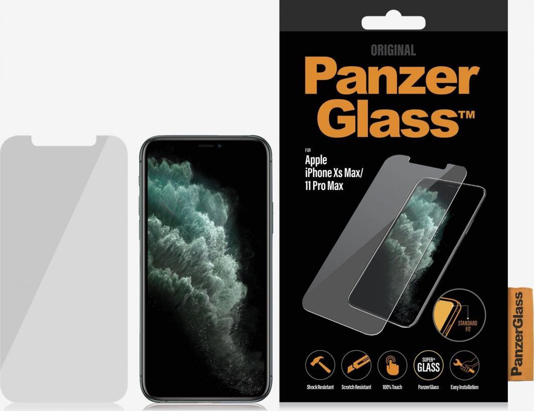 PanzerGlass Szkło hartowane do iPhone Xs Max/11 Pro Max Case Friendly (2663) 1