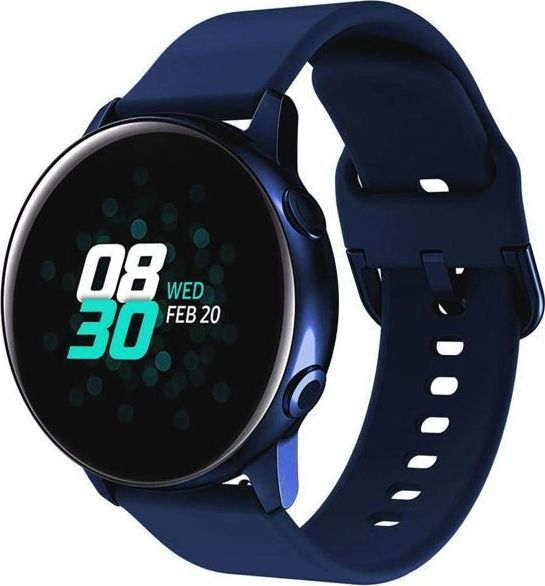 Alogy Soft do Samsung Galaxy Watch Active 2 Granatowy 1