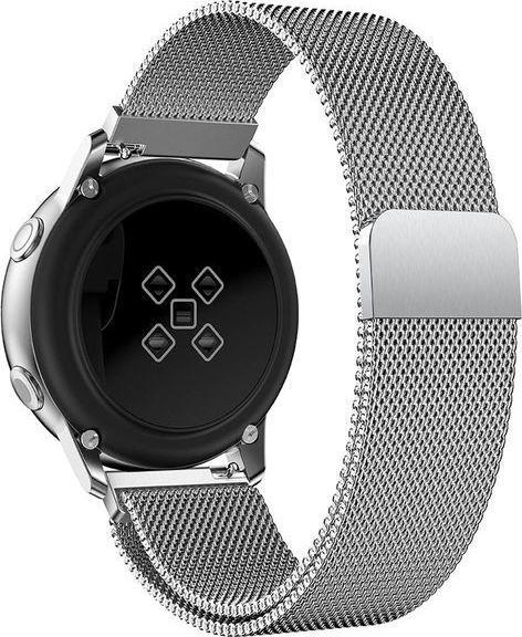 Alogy Bransoleta Milanese pasek Alogy do Samsung Gear S3/ Watch 46mm srebrna uniwersalny 1