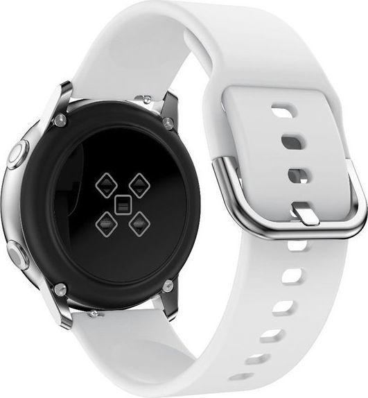 Alogy Gumowy pasek Alogy soft do Samsung Gear S3/ Watch 46mm biały uniwersalny 1