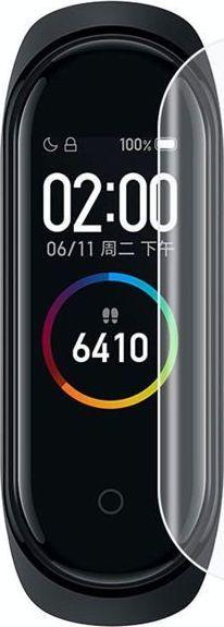 Alogy 5x Folia hydrożelowa Alogy Hydrogel do Xiaomi Mi Band 3 / Mi Band 4 uniwersalny 1
