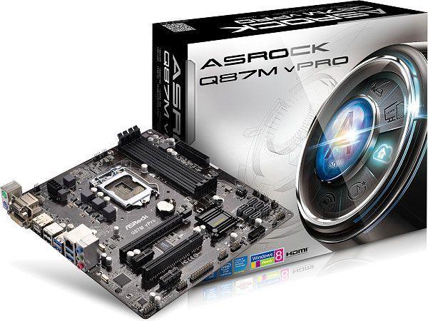 ASRock Q87M vPro XFast USB Download Driver