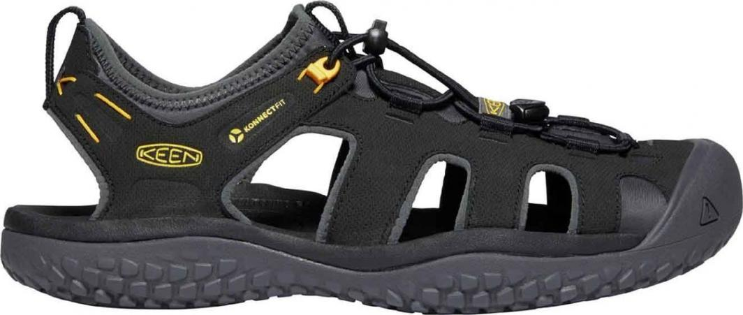 Keen Sandały męskie Solr Sandal Black/Gold r. 42.5 (1022246) 1