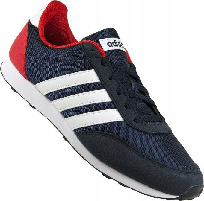Adidas Buty męskie V Racer 2.0 czarne r. 46.5 (EG9914) ID produktu: 6500864