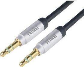 Kabel Yenkee Jack 3.5mm - Jack 3.5mm 2m czarny (35046233) 1