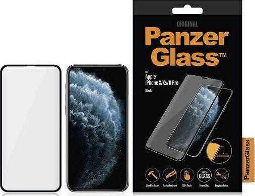 PanzerGlass SZKŁO HARTOWANE PANZERGLASS DO IPHONE X/XS/11 PRO CZARNY 1