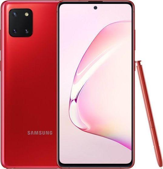 Smartfon Samsung Galaxy Note 10 Lite 128 GB Dual SIM Czerwony  (SM-N770FZRDXEO) 1