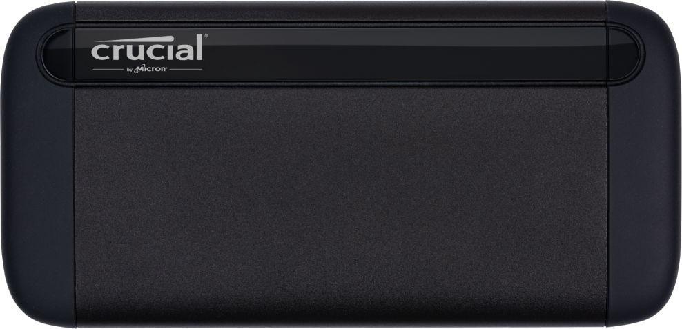 Dysk zewnętrzny Crucial SSD Portable X8 1 TB Czarny (CT1000X8SSD9) 1
