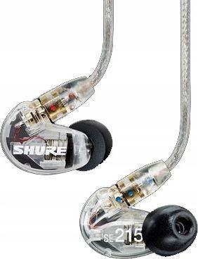 Słuchawki Shure SE215-CL-EFS 1