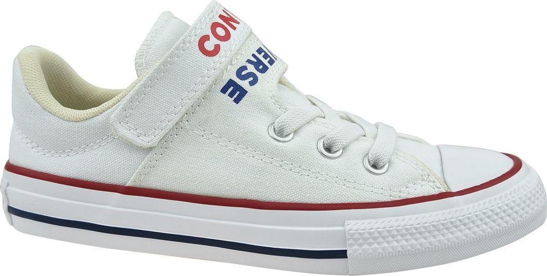 Converse Buty dziecięce Chuck Taylor All Star Double Strap białe r. 33 (666927C) ID produktu: 6509180