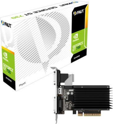 Karta graficzna Palit GeForce GT 730 2GB DDR3 (NEAT7300HD46H) 1