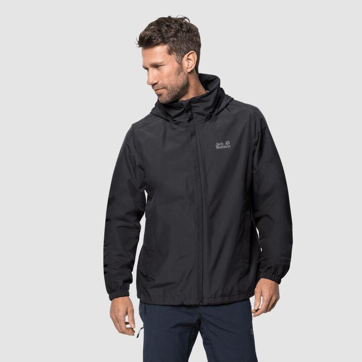 Jack Wolfskin Kurtka męska Stormy Point Jacket M black r. XL ID produktu: 6516535