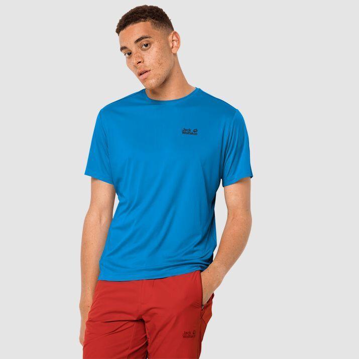Jack Wolfskin Koszulka męska Tech T M brilliant blue r. L 1