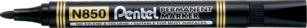 Pentel Marker permanentny N850 okrągła końcówka czarny (42K053A) 1