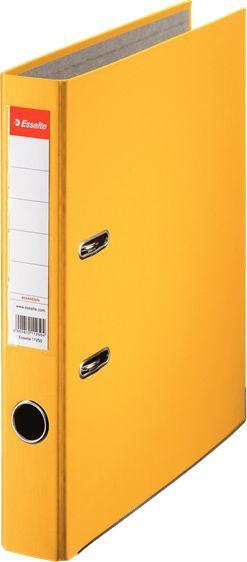 Segregator Esselte Ekonomiczny dźwigniowy A4 50mm żółty (10K009M) 1