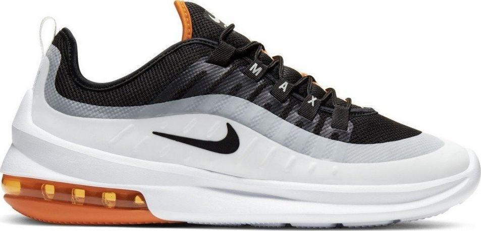 trampki 'nike air max axis' pomarańczowy czarny biały marki Nike sportswear