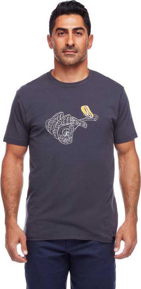 Black Diamond Koszulka męska BD CAM TEE Blue Ash r. L 1