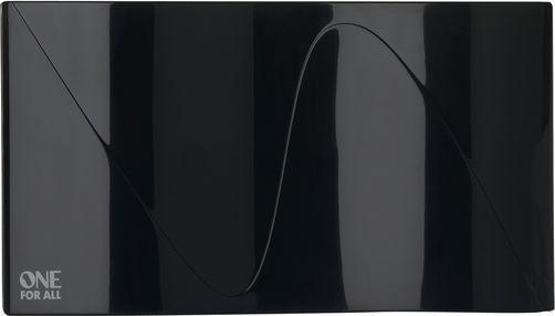 Antena RTV One For All ze wzmacniaczem 38 dB, do 15 km od nadajnika, czarna (SV 9323) 1