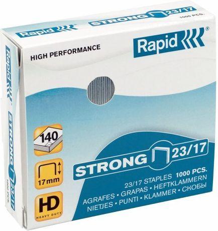 Rapid Zszywki Strong 23/8, 1000 szt. (10K257C) 1