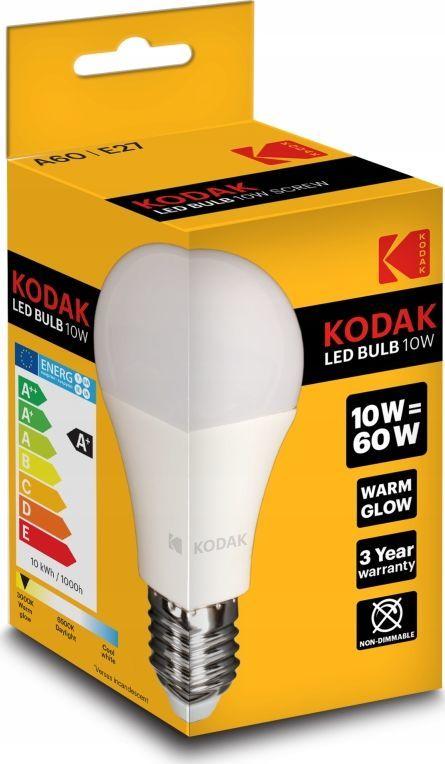 Kodak Żarówka Kodak LED A60 E27 806lm Warm Glow 10W/60W 1