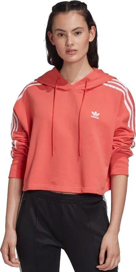 Adidas Bluza damska Originals Cropped Hoodie różowa r. 38 (FM3274) ID produktu: 6523968