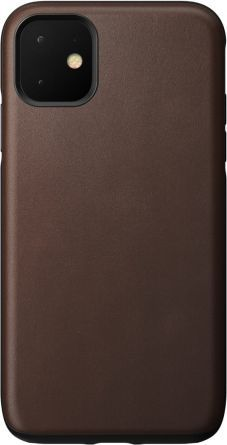 Nomad NOMAD Case Leather Rugged Rustic Brown | iPhone 11 1
