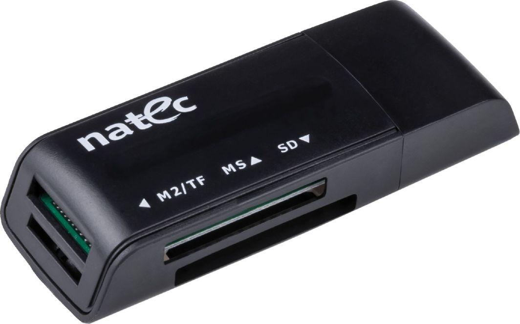 Czytnik Natec CZYTNIK MINI ANT 3 USB 2.0 BLACK (NCZ-0560) 1