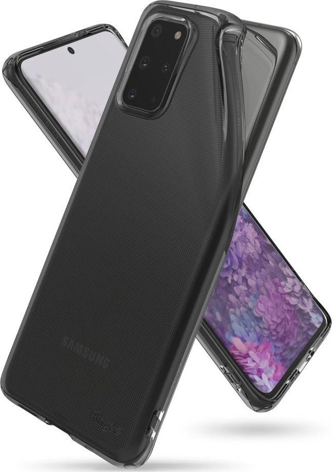 Ringke Ringke Air ultracienkie żelowe etui pokrowiec Samsung Galaxy S20 Plus czarny (ARSG0026) uniwersalny 1