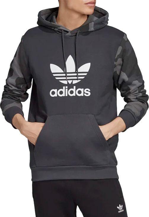 Adidas Bluza męska Camouflage Hoodie szara r. XL (ED6977) ID produktu: 6531333