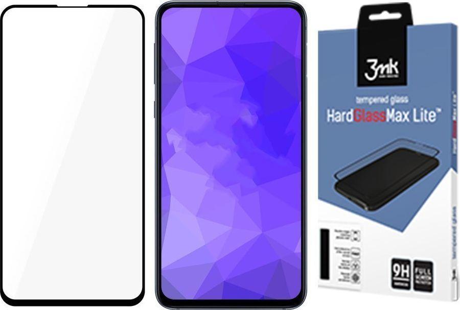 3MK HardGlass Max Lite Samsung A51 A515 Czarny FullScreen (9H-3M001404) 1