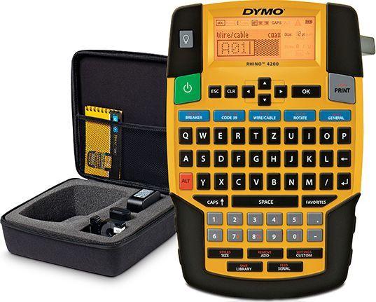 Drukarka etykiet Dymo RHINO 4200 zestaw walizkowy  1