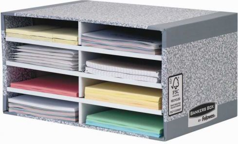 Fellowes Bankers Box System z FSC sorter biurkowy FastFold, op. 1 szt (08750EU) 1