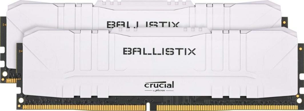 Pamięć Ballistix 32GB Kit DDR4 2x16GB 3000 CL15 DIMM 288pin white 1