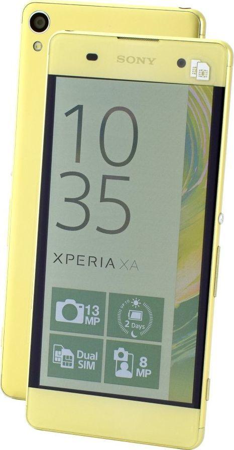 Smartfon Sony Xperia XA 16 GB Dual SIM Zielony  1