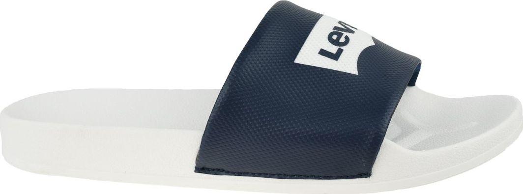 Levi`s Klapki męskie Batwing Slide Sandal czarne r. 43 (228998-756-51) 1