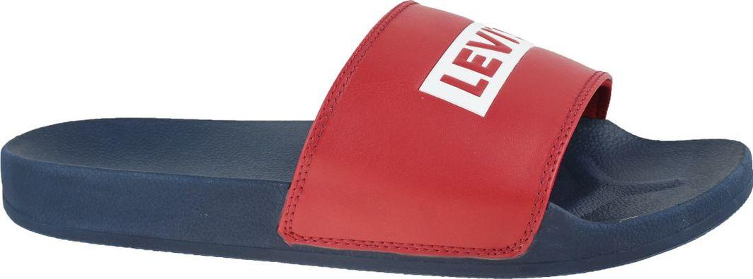 Levi`s Klapki męskie June Babytab czerwone r. 45 (231761-794-17) 1