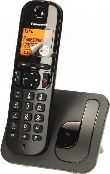 Telefon stacjonarny Panasonic KX-TGB210PDB Czarny  1