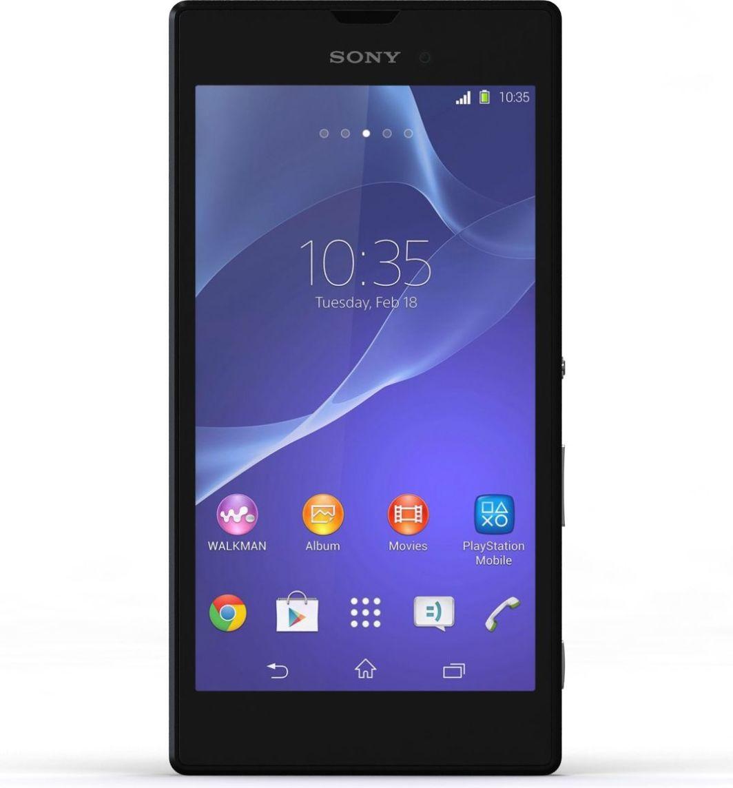 Smartfon Sony 8 GB Czarny  (1285-2129) 1