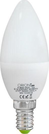 Orion ŻARÓWKA LED 3W E14 ŚWIECA 240LM 1