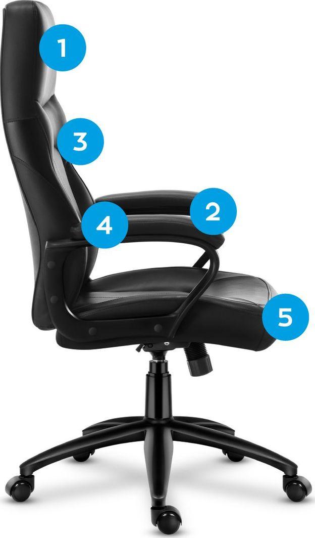MarkAdler Fotel biurowy obrotowy MarkAdler Boss 3.5 1