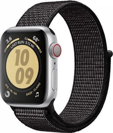 Crong Crong Reflex Band - Pasek sportowy Apple Watch 38/40 mm (czarny) 1