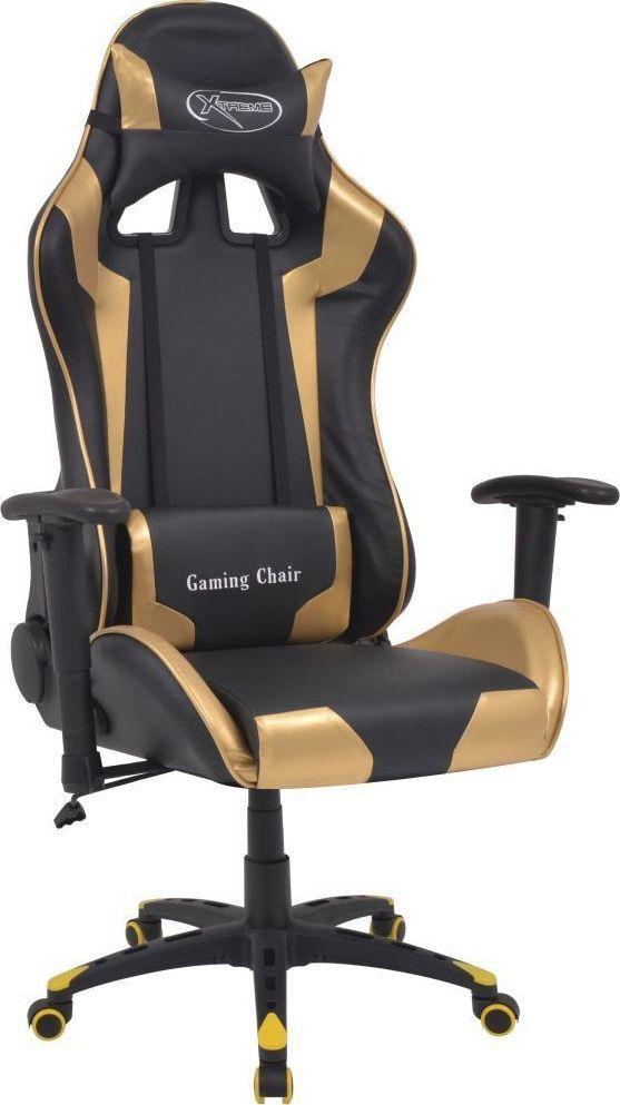 vidaXL vidaXL Krzesło biurowe w stylu sportowym ze sztucznej