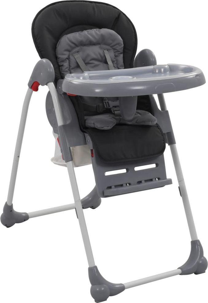 vidaXL Krzesełko do karmienia dzieci szare ID produktu: 6579039