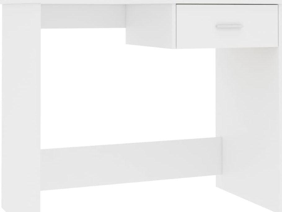 Biurko vidaXL z szufladą 100x50x76 1