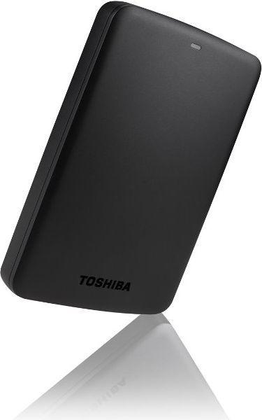 Dysk zewnętrzny Toshiba HDD Canvio Basics 1 TB Czarny (HDTB310EK3AA) 1