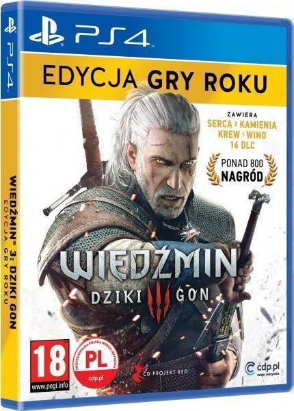 Wiedźmin 3: Dziki Gon - Edycja Gry Roku PS4 1