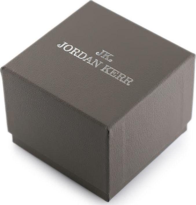 Jordan Kerr Prezentowe pudełko na zegarek - JORDAN KERR - szare/srebrne uniwersalny 1