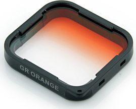 Filtr Xrec FILTR Połówkowy Pomarańczowy do GoPro HERO 5 6 7 BLACK 1