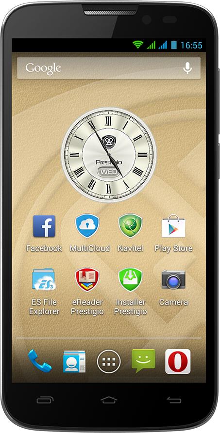 Smartfon Prestigio 4 GB Dual SIM Szary  (PAP5503DUOGREY) 1