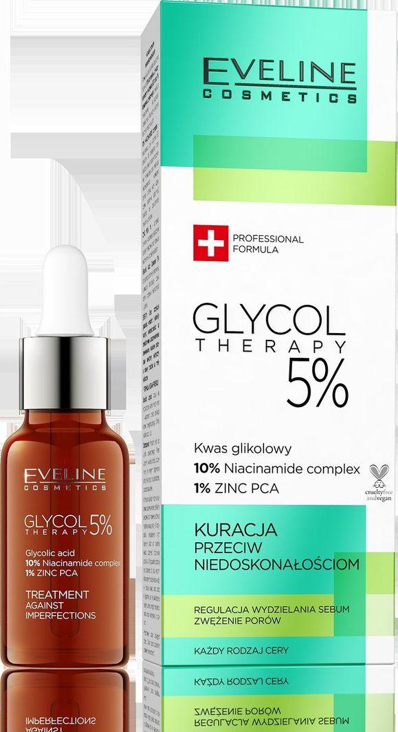 Eveline Eveline Glycol Therapy 5% Kuracja przeciw niedoskonałościom 18ml 1